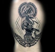 100 Anubis Tetování Vzory Pro Muže Egyptské Canine Inkoustové Nápady