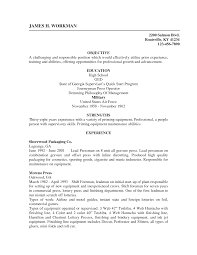 Ged On Resume Resume For Study