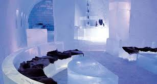 氷の自宅で涼しい