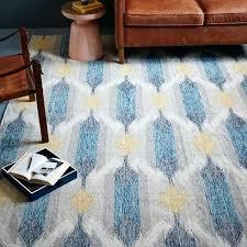 ikat rug blue teardrop rug blue lagoon ikat outdoor rug blue ikat rug blue
