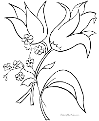 Small Picture Impressive Printable Flower Coloring Pages Top 2277 Unknown