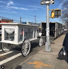At the conclusion of today's procession, he's set to be laid to rest at a brooklyn cemetery. Pop Smoke Honored In Brooklyn Funeral Two Weeks After Tragic Shooting Death
