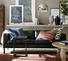 Living Room Furniture Austin Austin Leather Sofa Pottery Barn Au