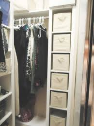 interior closet organizing ideas complete with box storage plus white hanging rods corner cabinet multi function open shelves plastic hanger clothes steel