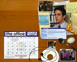 The Office Calendar The Office 2008 Calendar Officetally
