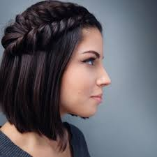 30 Swanky Braided Hairstyles To Do On Short Hair All Hairstyles