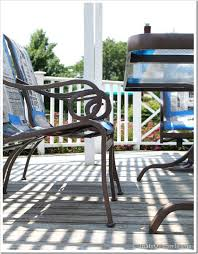 best paint for outdoor furnitureHow to Paint Outdoor Furniture with Sling Seats  InMyOwnStyle