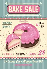 Bake Sale Flyer Templates Free Bake Sale Free Flyer Template