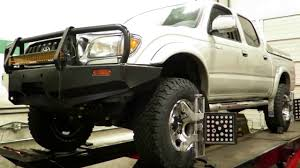 2004 Toyota Tacoma has a Toytec BOSS suspension kit installed at ...