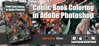 Small Picture Comic Book Coloring in Adobe Photoshop PhotoshopCAFE