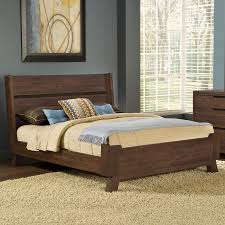 Modus Furniture Portland Medium Walnut California King Platform Bed ...
