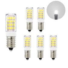 Small Light Bulbs For Lamps E14 Ses Small Screw Led Capsule Corn Light Bulbs 5w 400lm Cool White 6000k Ac220 240v Replace 40w Incandescent Candle Light Bulbs For Chandelier