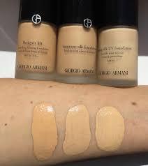 Giorgio Armani Foundations Review And Comparison Makeup