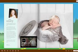 online baby photo book free picture book maker create animated photo albums share to