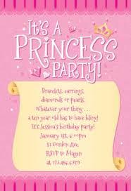 Invites Birthday Party Princess Invitation Template Free Greetings Island