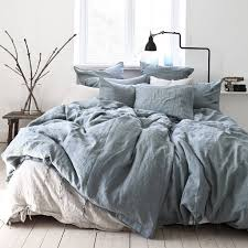 tell me more duvet cover 100 stonewashed linen 220x240 dusty