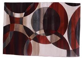 balta rug cream maroon beige gray colors size 7 x10 ft