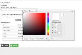 Hexadecimal Color Values Finalsite Support