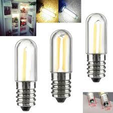 Mini Light Bulbs Details About Dimmable Mini Led Fridge Light E14 Ac 220 V E12 110v Filament Cob Bulbs 1w 2w 4w