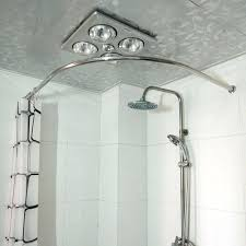 corner shower curtain rod ideas copper thickening stainless steel l shower curtain rod curved hole saw