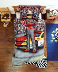 wonderful race car sheets 20 comforter set boy driver bedding twin photo real checd flag toddler bed drawing