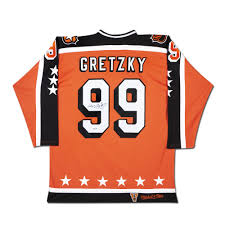 Ness All Mitchell Wayne Gretzky 1984-85 Star Jersey Signed amp;