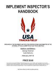 Usatf Metric Conversion Chart Implement Inspector S Handbook Manualzz Com