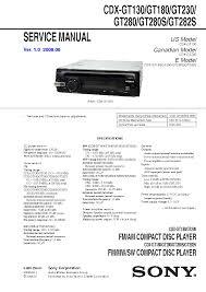 sony cdx m700r cdx m750 ver1 5 service manual sony cdx gt130
