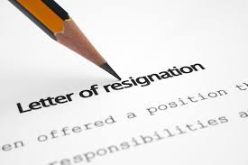 Image result for Resignation
