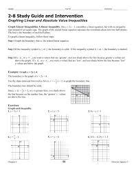 solving absolute value inequalities worksheet beautiful algebra 499528