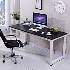 Popamazing Compact Corner Computer Desk PC Laptop Desktop Study Writing  Table Workstation for Home Office,