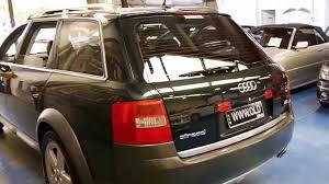 Audi Allroad Quattro wagon 2005 4.2 litre V8 - YouTube