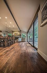 Pretty Walnut Flooring! No shiny coating!