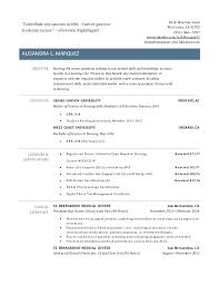 experienced rn resume sample new grad rn resume sample with no experience mmventures co