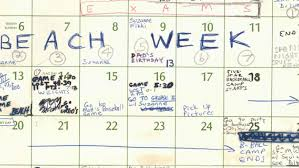 Calnedar Brett Kavanaugh Turns Over Calendar From Summer Of 82 To Push Back