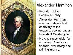 Image result for the Treasury Alexander Hamilton