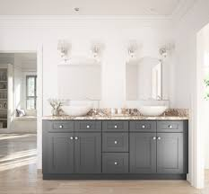 rta cabinets bathroom. Grey Shaker RTA Cabinets Rta Bathroom E
