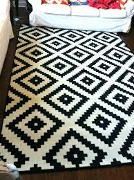 ikea black fur rug black rug home chic rug black and white rug black modern white