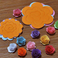 Paper Quilling Rose Flower Basket Quilling Tool Ebay
