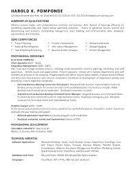 Consultant Resume Example Impressive Sap Mm Consultant Resume Example Of Materials Management Sample