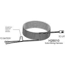 harmar vehicle wiring harness h28010 shopwheelchair battery wiring harness 1995 v6 mustang harmar vehicle wiring harness
