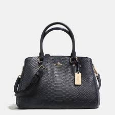Coach Outlet Mini Empire Carryall In Stamped Snakeskin Leather