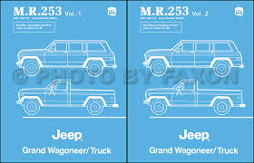 1984 jeep grand wagoneer j truck original wiring diagram schematic related items