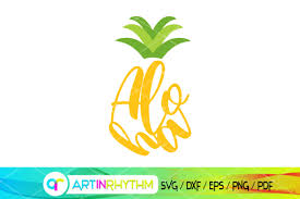 See more ideas about cute pineapple, pineapple, svg. Pineapple Bundle Aloha Pineapples Svg Graphic By Artinrhythm Creative Fabrica