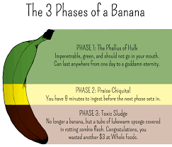 Stages Of A Banana Posted In The Funnycharts Community