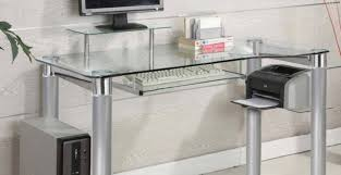 full size of desk keyboard tray for glass desk clear glass desks with regard to
