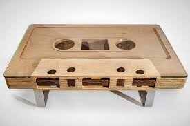 Mixtape Coffee Table: The Moment This Table Hit The Interwebs, We Had To  Write About It. It Makes Us Think Of All Those Angsty Mixtapes In Early \u002790s. Brit + Co