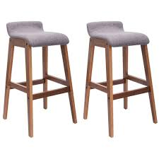 bentwood bistro chair. Amazon.com: COSTWAY Set Of 2 Bentwood Bar Stools Counter Height Modern Bistro Kitchen Pub Chair: \u0026 Dining Chair