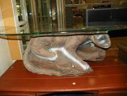 mountain lion coffee table coffee