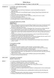 Category Planner Resume Samples Velvet Jobs